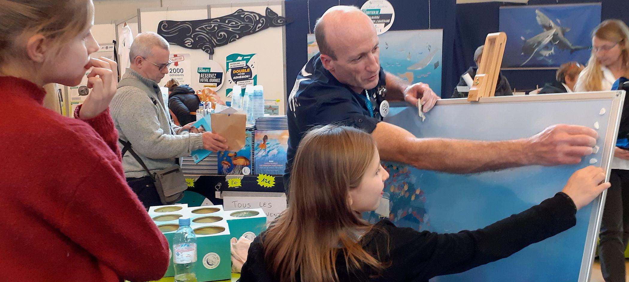 Animation Ocean academy par Patrice Bureau
