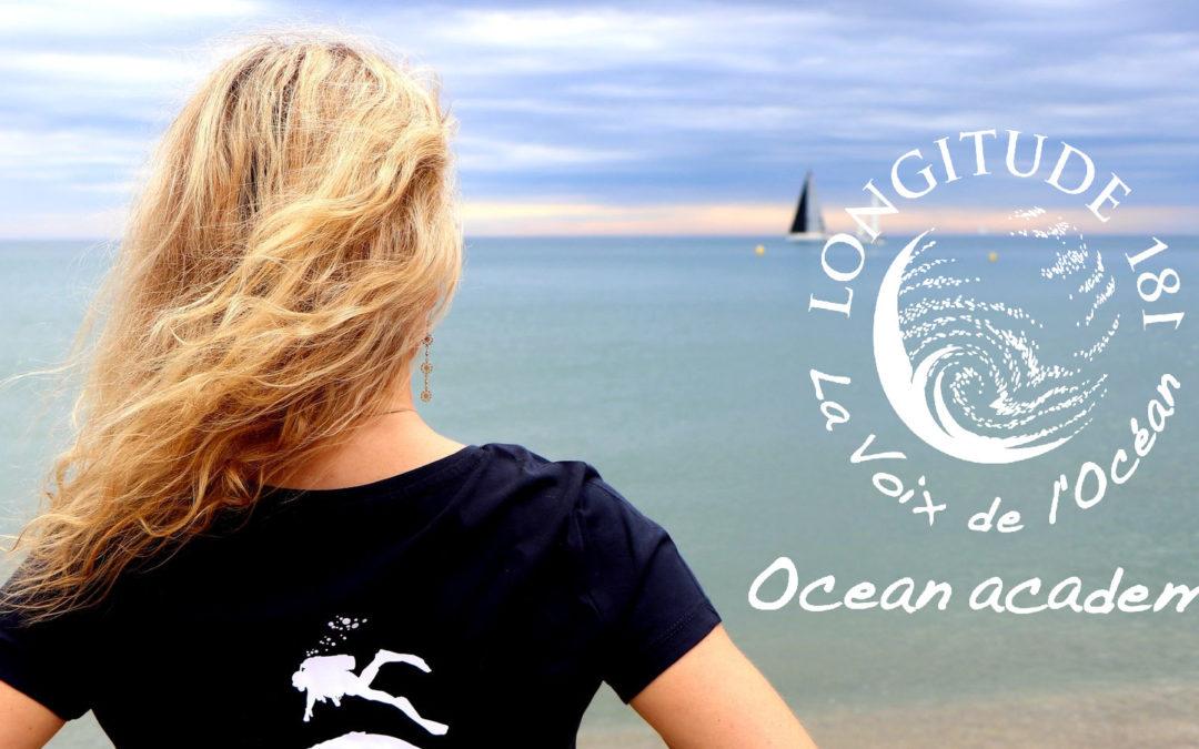 Les activités en ligne et la boutique Ocean academy