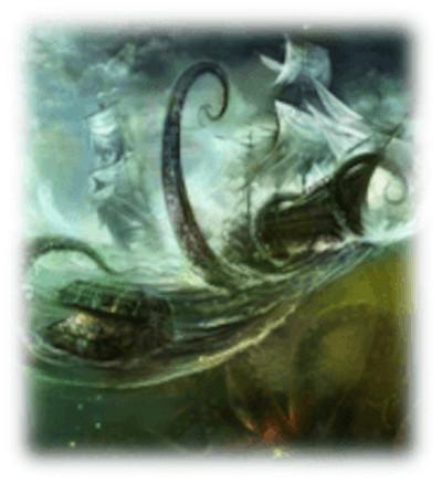illustration du Kraken