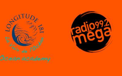 François Sarano présente Ocean academy sur Radio Méga